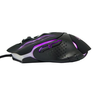 Mouse Gamer Dazz Black Tiger 2400DPI, Leitor Infravermelho, USB 2.0