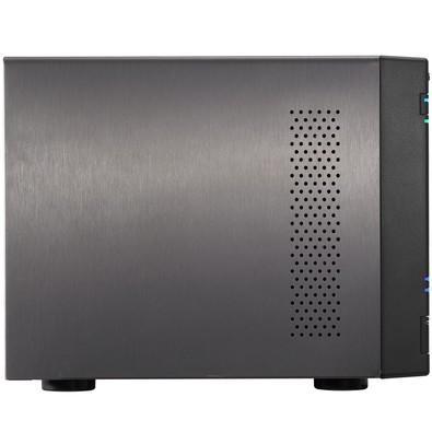 Storage Asustor NAS Intel Quad Core J3160 1.6GHZ 4GB DDR3  - Torre 4 Baias Sem Disco - AS6204T