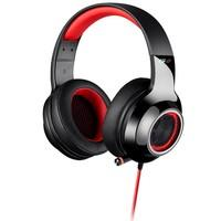 Headphone Gamer 7.1 EDIFIER G4 Over-Ear Preto e Vermelho