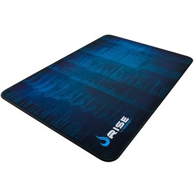 Mousepad Rise Hacker Fibertek Grande Borda Costurada - RG-MP-05-HCK