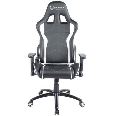 Cadeira Gamer Husky Storm, Black White - HST-BW