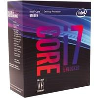 Processador Intel Core i7-8700K Coffee Lake, Cache 12MB, 3.7GHz (4.7GHz Max Turbo), LGA 1151 - BX80684I78700K
