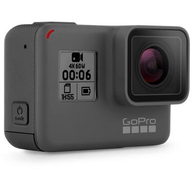 Câmera GOPRO Hero 6 Black, 4K, à Prova D´Água, WiFi- Bluetooth, Controle por Voz, GPS, CHDHX-601-RW