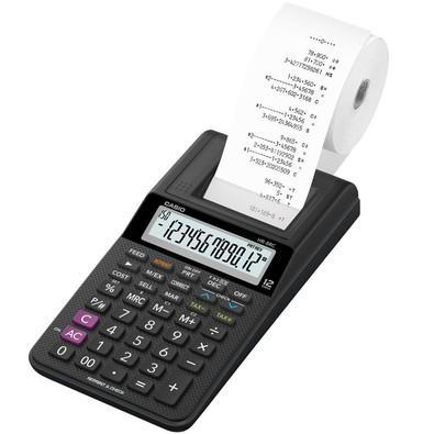 Calculadora de Impressão Casio HR-8RC-BK Preta