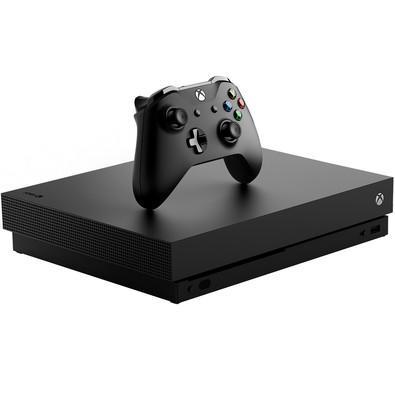 Console Microsoft Xbox One X, 1TB, Preto - CYV-00006