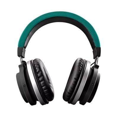 Headphone Bluetooth Pulse Preto e Verde PH231