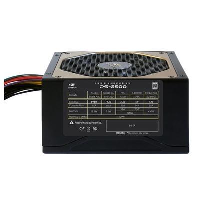 Fonte ATX C3 Tech 500W 80 Plus White PS-G500