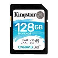 Cartão de Memória Kingston Canvas Go! SD Card 128GB - SDG/128GB