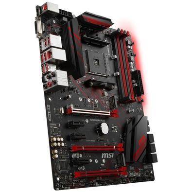 Placa-Mãe MSI X470 Gaming Plus, AMD AM4, ATX, DDR4