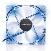 Cooler FAN Multilaser com LED Azul 12x12 - GA135