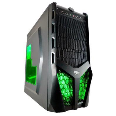 Computador Gamer G-FIRE, AMD Ryzen 3 2200G, 8GB, 1TB, Radeon RX Vega 8 (integrada), Windows 10 (Versão de avaliação) - HTG R252