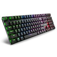 Teclado Mecânico Gamer Sharkoon PureWriter, RGB, Switch Kailh Red, US