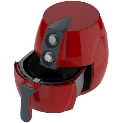 Fritadeira Cadence FRT541 Colors Sem Óleo Vermelha - 110V