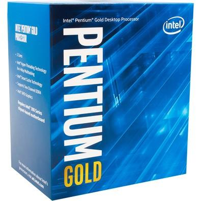 Processador Intel Pentium Gold G5600 Coffee Lake 8a Geração, Cache 4MB, 3.9Ghz, LGA 1151, Intel HD Graphics 630 BX80684G5600