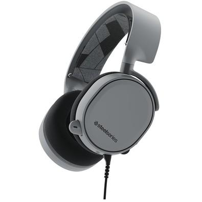Headset Gamer SteelSeries 7.1 Cinza Arctis 3 - 61437
