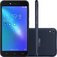 Smartphone Asus Zenfone LIVE ZB501KL-4A057A Quad Core Android 6, Tela 5´, 32GB, 13MP, 4G, Dual Chip Desbloq - Preto