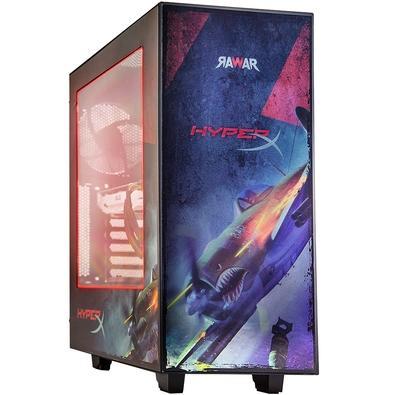 Computador Gamer Rawar HyperX Strife Intel Core i5-7400, 8GB, HD 1TB, Windows 10 (Versão de Avaliação) - RW300PVM