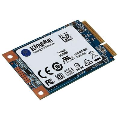 SSD Kingston UV500, 480GB, mSATA, Leitura 520MB/s, Gravação 500MB/s - SUV500MS/480G