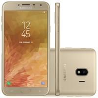 Smartphone Samsung Galaxy J4, 32GB, 13MP, Tela 5.5´, Dourado - SM-J400M