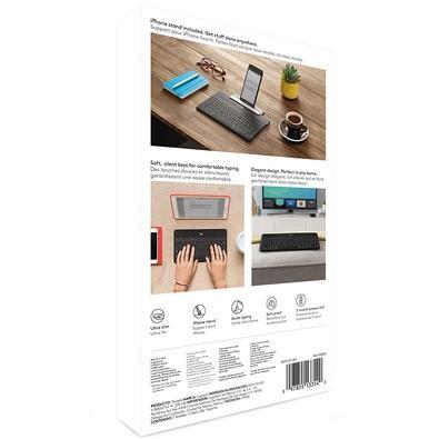 Teclado Logitech Keys-To-Go iPad iPhone Apple TV Preto - 920-008536