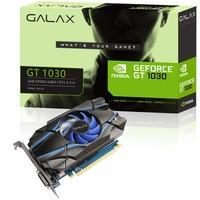 Placa de Vídeo VGA Galax NVIDIA GeForce GT 1030 2GB SDDR4 64 Bits DVI/HDMI - 30NPK4HVQ4BG