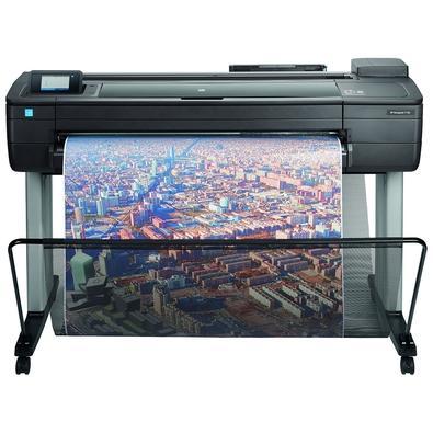 Plotter HP DesignJet T730, Jato de Tinta, 36´, Colorida, Wi-Fi, 110V