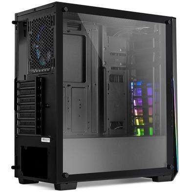 Gabinete NOX Infinity Sigma, Vidro Temperado, RGB Rainbow, Controlador de FAN - NXINFINTYSIGMA