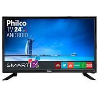 Smart TV LED 24´ Full HD Philco, HDMI, 2 USB, Wi-Fi - PTV24N91SA