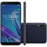 Smartphone Asus Zenfone Max Pro M1, 32GB, 13MP, Tela 6´, Preto - ZB602KL-4A110BR