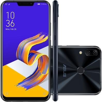 Smartphone Asus Zenfone 5 ZE620KL-1A023BR Octa Core, Tela 6.2´, 64GB, Câmera 8MP / 12+8MP, Desbloqueado - Preto