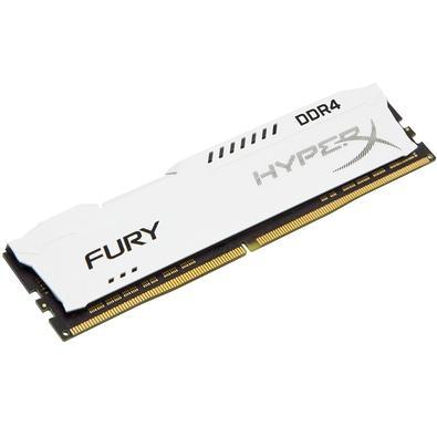 Memória HyperX Fury, 16GB, 3200MHz, DDR4, CL18, Branco - HX432C18FW/16