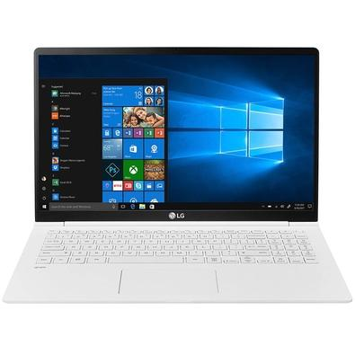 Notebook LG Gram, Intel Core i7-8550U, 8GB, SSD 256GB, Windows 10 Home, 15.6´, Branco - 15Z980-G.BH71P1