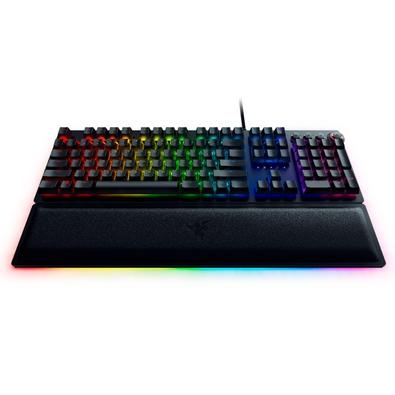 Teclado Óptico Mecânico Gamer Razer Huntsman Elite, Switch Razer Purple, US - RZ03-01870200-R3U1