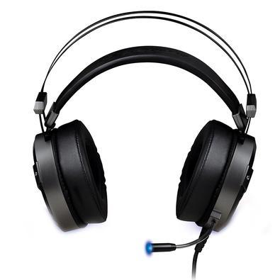 Headset Gamer Fortrek RGB, 2x P2 + USB, Cinza - H1 Pro
