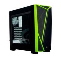 Gabinete Corsair Carbide SPEC-04, Mid Tower, Preto e Verde - CC-9011119-NV1