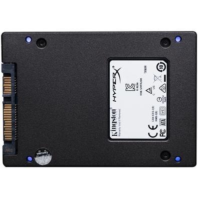SSD HyperX Fury RGB, 240GB, SATA, Leitura 550MB/s, Gravação 480MB/s, Kit Upgrade - SHFR200B/240G