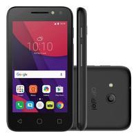 Smartphone Alcatel Pixi 4, 8GB, 8MP, Tela 4´, Preto - 4034E
