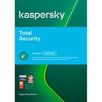 Kaspersky Antivírus Total Security 2020 Multidispositivos 3 PCs - Digital para Download