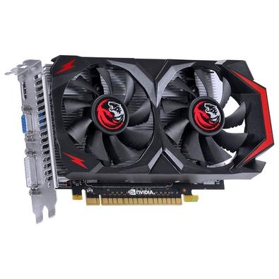 Placa de Vídeo VGA PCYes NVIDIA GeForce GTX 550 Ti Dual Fan, 1GB, GDDR5, 128 bits, PCI-E 2.0 - PV55TX1GD5128DF