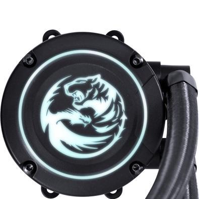 WaterCooler PCYes Nix RGB 240mm, 2 Fans, Preto - PWC240H40PTRGB