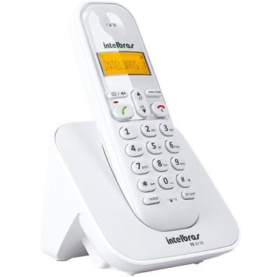 Telefone Intelbras sem Fio TS3110 Branco
