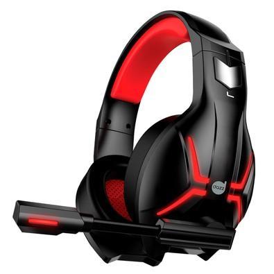Headset Gamer Dazz Titan 2.0, USB, Preto e Vermelho - 624848