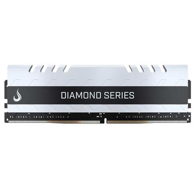 Memória Rise Mode Diamond, 16GB, 3000MHz, DDR4, CL15, Branco - RM-D4-16GB-3000DW