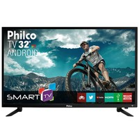 Smart TV LED 32´ Philco, Conversor Digital, 2 HDMI, 2 USB, Wi-Fi - PTV32N87SA
