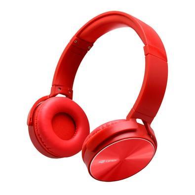 Headset C3 Tech Dobrável, Vermelho - PH-110RD