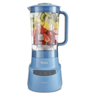 Liquidificador Philco PH Touch Azul 900W 220V