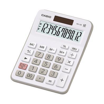Calculadora De Mesa 12 Dígitos Mx-12B-We-Dc Branca
