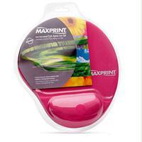 Mouse Pad com Gel Maxprint 605495 Rosa