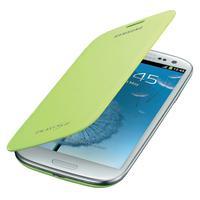 Capa p/ Samsung Galaxy S3 Samsung Flip Cover Verde EFC-1G6FMECSTD