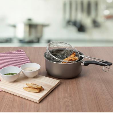 Fritadeira 20cm Chilli Brinox Prata
